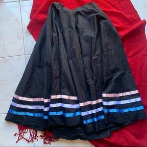 Sensational BLOCH ribbon skirt (kids L, adults S)